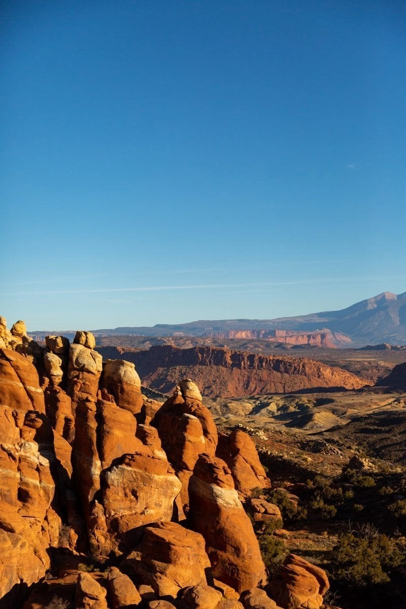 fiery furnance in arches national park. Grt lost among sandstone sculptures on your wedding day