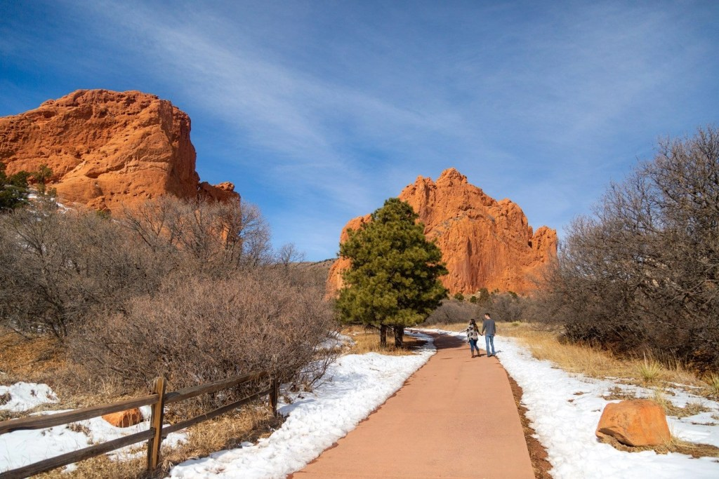 garden of the gods one of the best places to elope in colorado