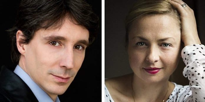 Jean-Michel Malouf and Holly Mathieson are the two finalists in Symphony Nova Scotia's search for a new music director. Photos courtesy Symphony Nova Scotia.