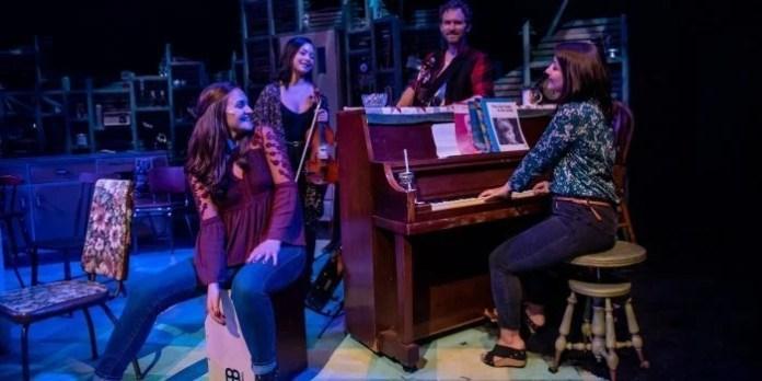 The Argyle Street Kitchen Partybank Theatre through August 25. Photo by Stoo Metz.