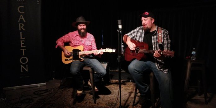 Live at The Carleton with Adam Wood and Colin Boutilier