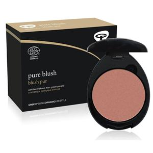 Green people cosmetics review - blush