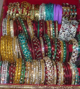 Indian bangles in lots of colours