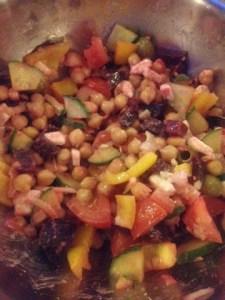 Jamie Oliver's chickpea salad
