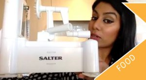 Salter Spiralizer Video Demo & Review
