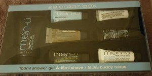 Men-u Selection Box shower gel, shave and facial