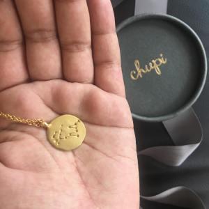 Chupi star sign necklace