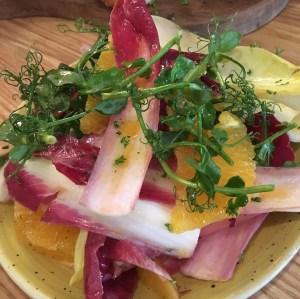 Chicory salad at La Cantina