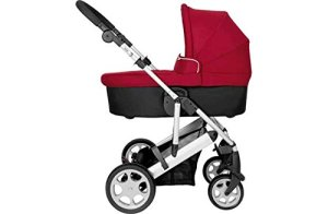 Mamas and papas red carrycot pushchair