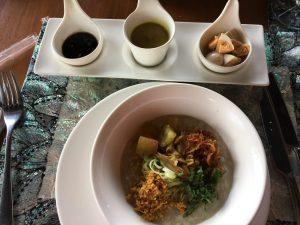 Breakfast at Ayung resort Bali