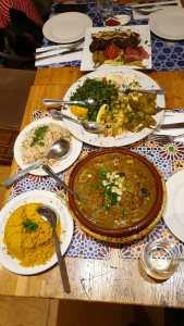 Lebanese and Moroccan cuisine