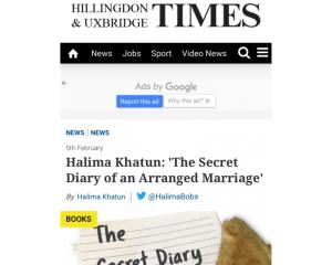 HalimaBobs in Uxbridge and Hillingdon Times