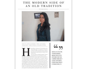 HalimaBobs and The Secret Diary of an Arranged Marriage in Asian Life Magazine