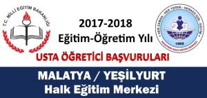 malatya-yesilyurt-usta-ogretici-basvurulari
