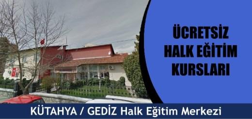 Kütahya-Gediz-ücretsiz-halk-eğitim-merkezi-kursları