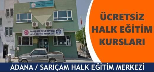 ADANA-SARIÇAM-Halk-Eğitim-Merkezi-Kursları