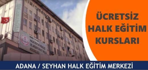 ADANA-SEYHAN-Halk-Eğitim-Merkezi-Kursları