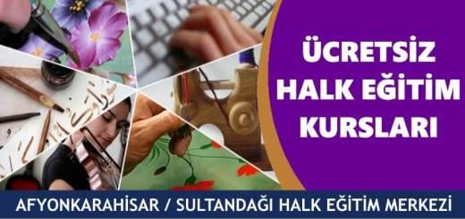 AFYONKARAHİSAR-SULTANDAĞI-Halk-Eğitim-Merkezi-Kursları