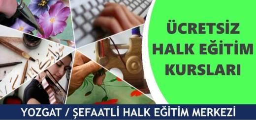 YOZGAT-ŞEFAATLİ-Halk-Eğitim-Merkezi-Kursları