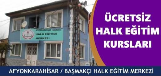 AFYONKARAHİSAR-BAŞMAKÇI-Halk-Eğitim-Merkezi-Kursları
