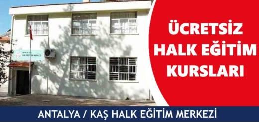 ANTALYA-KAŞ-Halk-Eğitim-Merkezi-Kursları