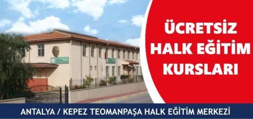 ANTALYA-KEPEZ-TEOMANPAŞA-Halk-Eğitim-Merkezi-Kursları