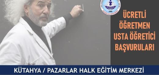 KÜTAHYA-PAZARLAR-Halk-Eğitim-Merkezi-Ücretli-Öğretmen-Usta-Öğretici-Başvuruları