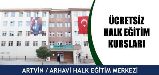 ARTVİN-ARHAVİ-ücretsiz-halk-eğitim-merkezi-kursları