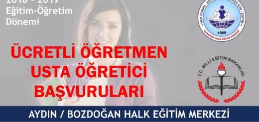 AYDIN-BOZDOĞAN-ucretli-ogretmen-usta-ogretici-alimi-2018-2019