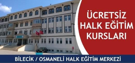BİLECİK-OSMANELİ-ücretsiz-halk-eğitim-merkezi-kursları