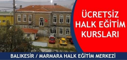 BALIKESİR-MARMARA-ücretsiz-halk-eğitim-merkezi-kursları