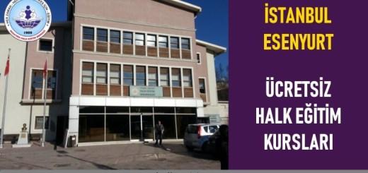 STANBUL-ESENYURT-ÜCRETSİZ-HALK-EĞİTİM-KURSLARI
