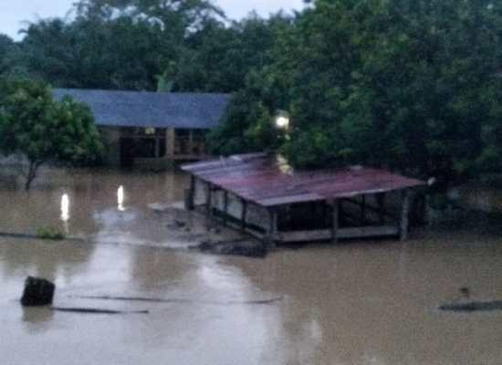 BPBD Langkat : Banjir Mulai Surut. 7 Kecamatan, 498 Rumah, 4 Jembatan Rusak/Putus Terdampak Banjir