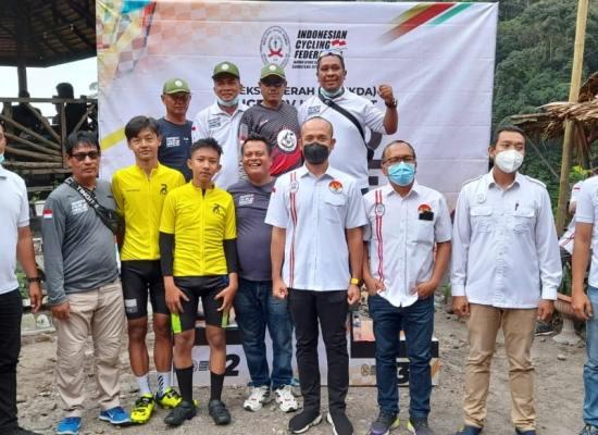 2 Atlet ISSI Langkat Berlaga di Selekda Road Race ISSI Sumut