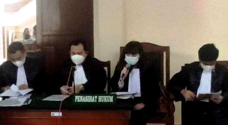 Dalam Sidang PN Stabat. Kuasa Hukum Okor Ginting : Dakwaan JPU Tidak Sesuai Ketentuan dan Meminta  Batal Demi Hukum