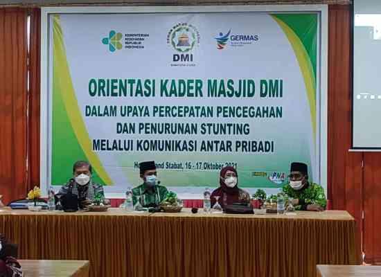 Orientasi Kader Masjid di Langkat Dalam Upaya Pencegahan Stunting