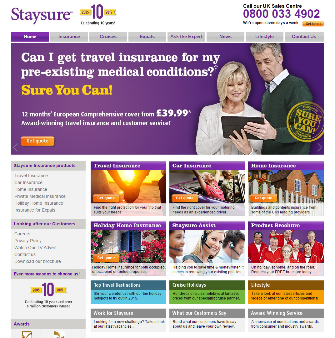 Staysure security breach leads to ICO Fine