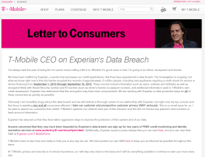 Supplier Security – A lesson for T-Mobile