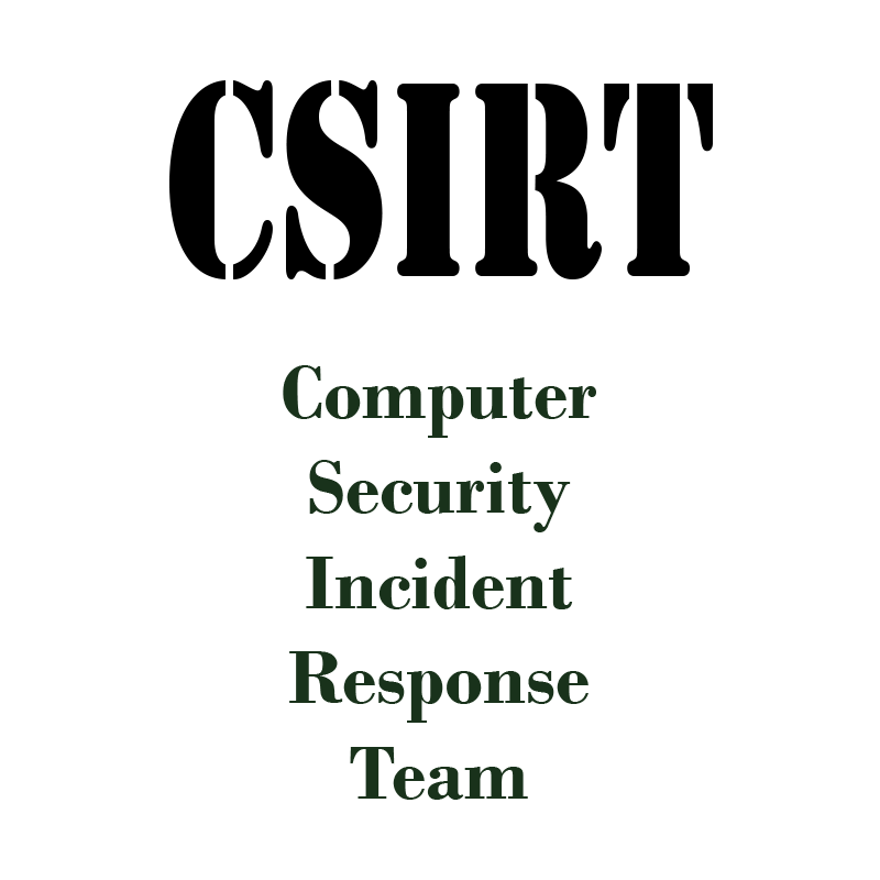 Incident Response – 5 key stakeholder groups