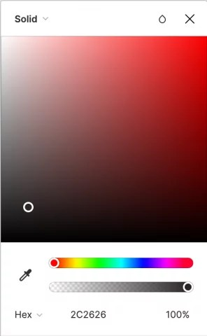 sélecteur de couleur