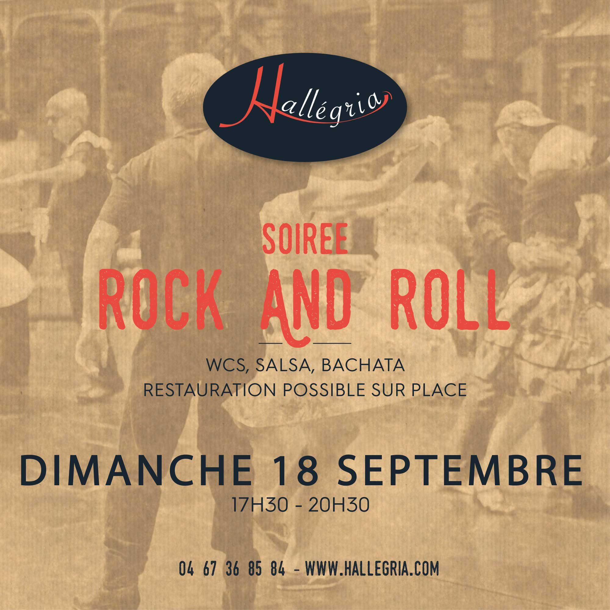 DIMANCHE 18 SEPTEMBRE : ROCK AND ROLL