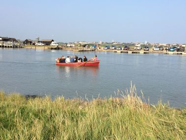 Rowing to Southwold