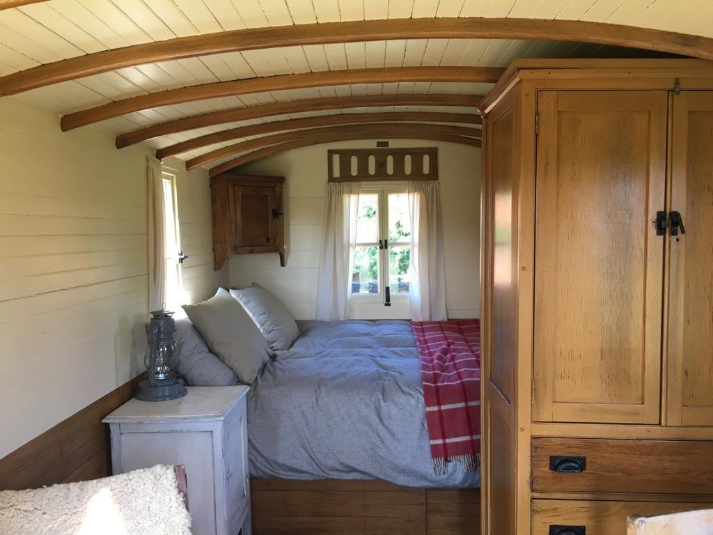 Shepherd's Hut interior