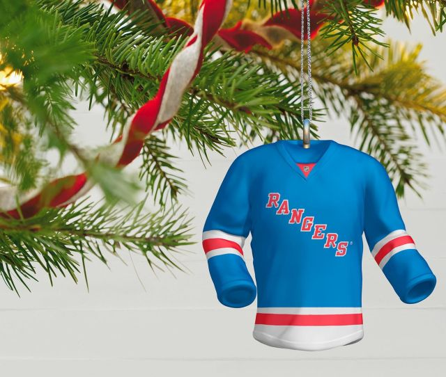 Nhl New York Rangers Jersey Ornament