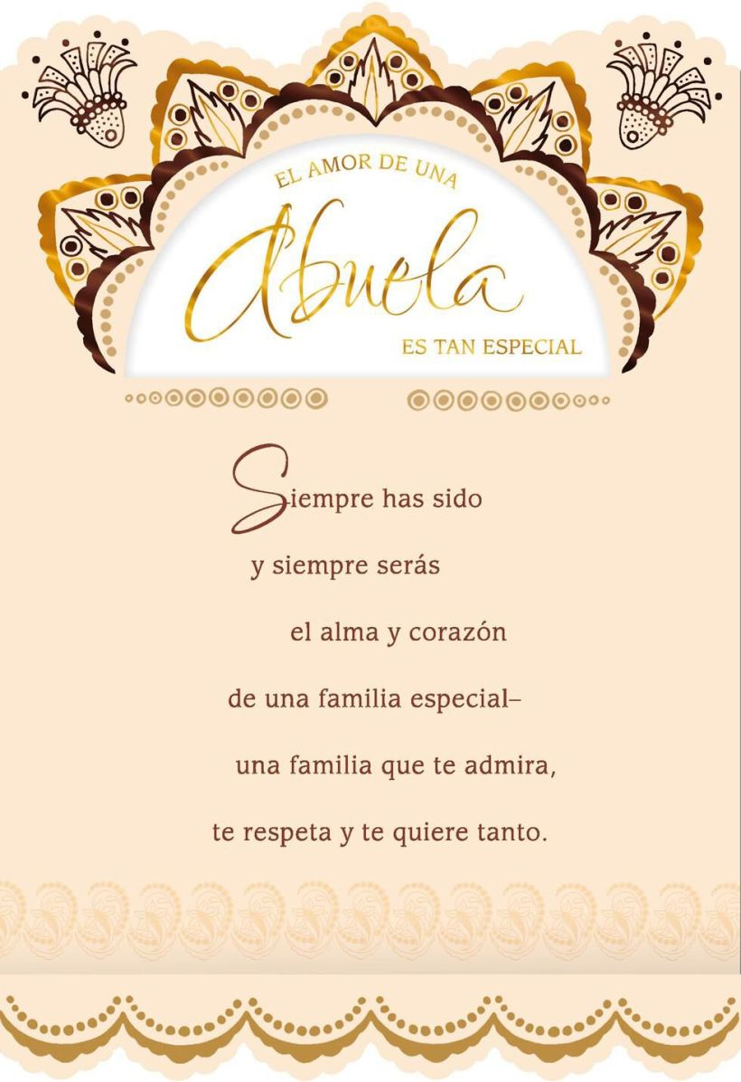 Birthday Cards For Grandma In Spanish Cardss
