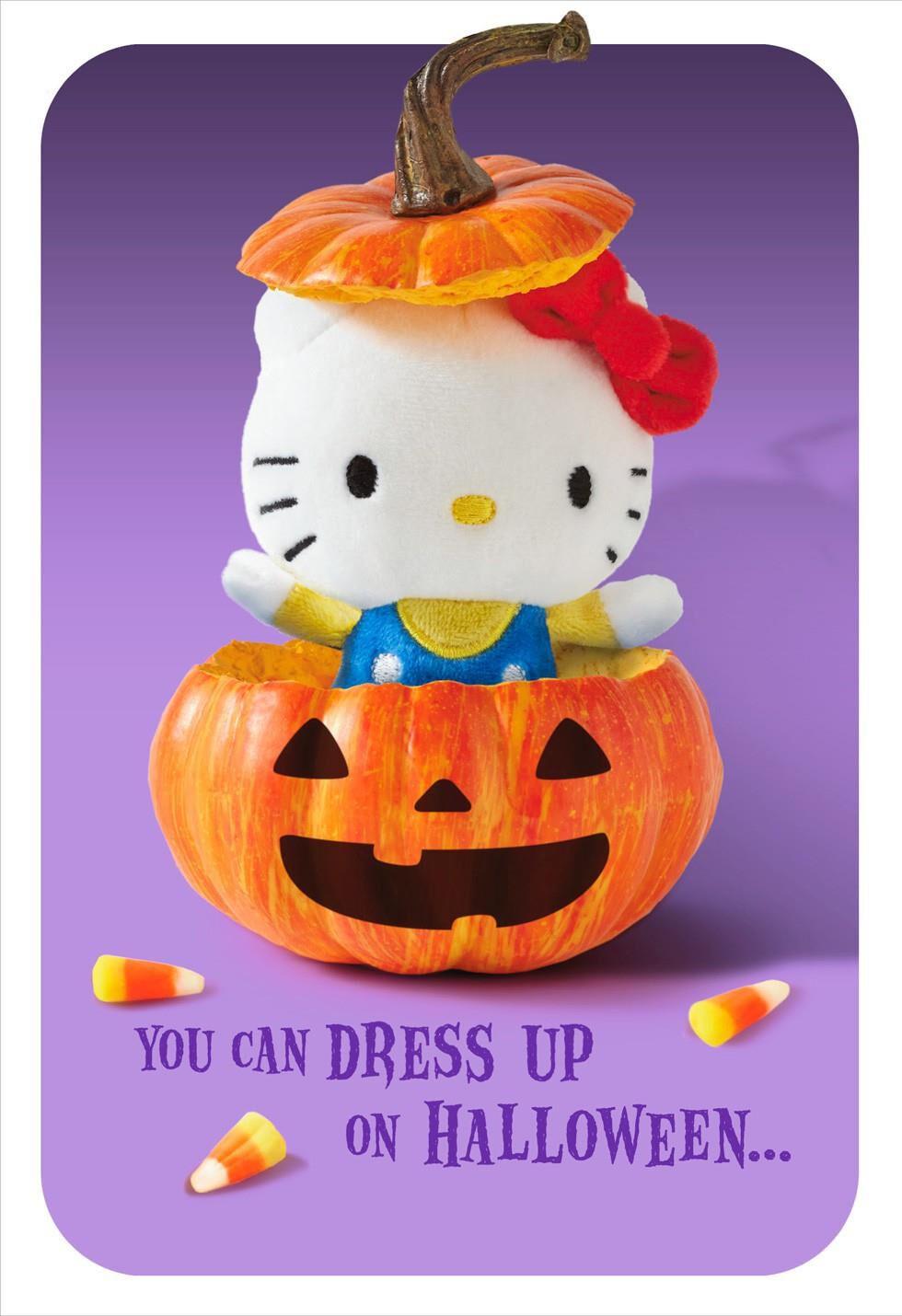 halloween surprise card