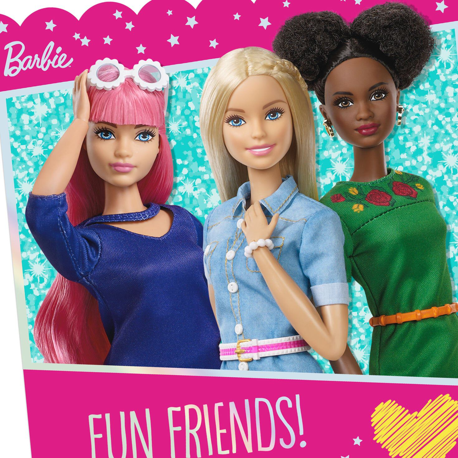 Barbie Friends Laughter And Good Times Birthday Card Greeting Cards Hallmark