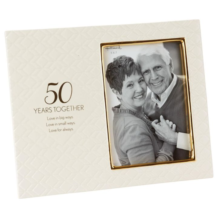 50th anniversary photo frames | Frameswall.co