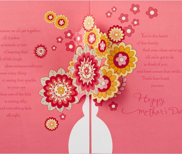 Flowers For Grandma Mothers Day Card Flowers For Grandma Mothers Day