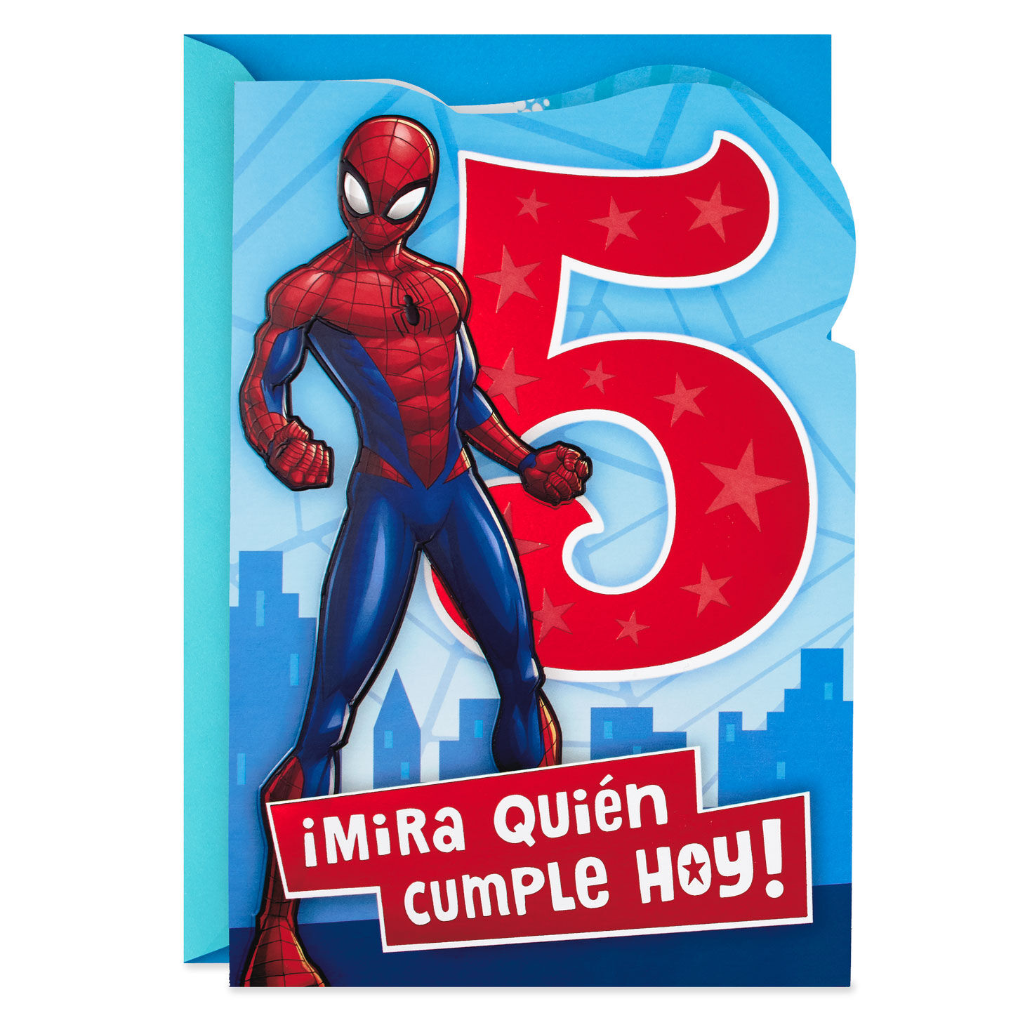 kids spiderman birthday cards 3rd 4th